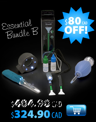 Save $80 on sensor cleaning essentials.