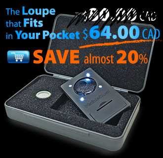 The Loupe that Fits in Your Pocket. SAVE 20%
